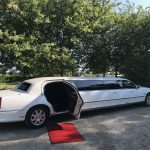 Red carpet limo